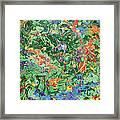 Paint Number Twenty Three Framed Print