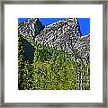 Painting Three Brothers Peaks Yosemite Np Framed Print
