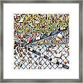 Paris - Locks Of Love Framed Print