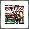 Paris Street Market Framed Print