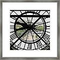 Paris Time Framed Print