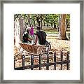 Park Games Framed Print