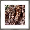 Park Guell Colonnade No1 Unframed Framed Print