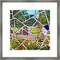 Park Reflections Framed Print