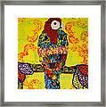 Parrot Oshun Framed Print