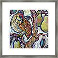 Partridge In A Pear Tree 1 Framed Print