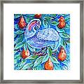 Partridge In A Pear Tree  Framed Print