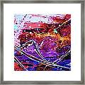 Party Light Canyon Framed Print by Chris Cloud