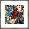 Passion Dancing Framed Print