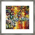 Passion Evening -  New Framed Print