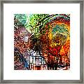 Past Or Future? Framed Print
