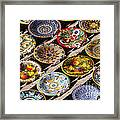 Pasta Bowls Framed Print