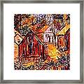 Pathway To Color Framed Print