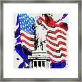 Patriotic Symbolism Framed Print