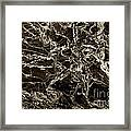 Patterns In Stone - 175 Framed Print
