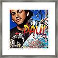 Paul Rodriguez Jr. Framed Print