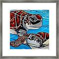 Peace Love And Turtles Framed Print