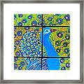 Peacock Ix Framed Print