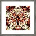 Pentagrammathanatos Severe Beauty Framed Print