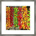 Peppers For Sale Framed Print