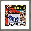 Perils Of The Royal Mounted, Us Poster Framed Print