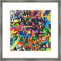 Perpetual Encounter With Providence 4 Framed Print