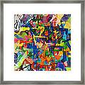Perpetual Encounter With Providence 7 Framed Print