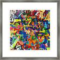 Perpetual Encounter With Providence 7b Framed Print