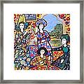 Persian Afternoon Framed Print