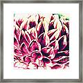 Petaled Framed Print