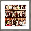 Pharmacy - The Medicine Shelf Framed Print