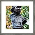 Philadelphia Benjamin Franklin Penny Bust Framed Print