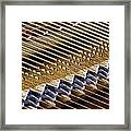Piano Abstract 6582 Framed Print