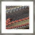 Piano Abstract 6637 Framed Print