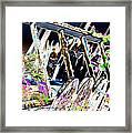 Picket Line Framed Print