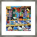 Pier One Framed Print