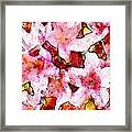 Pink Flowers 2 Framed Print
