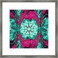 Pink Overlay Framed Print