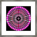 Pink Rings II Framed Print