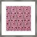 Pink Wool Framed Print