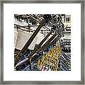 Pirn Winding Machine Framed Print