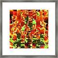 Pixilated 2 Framed Print