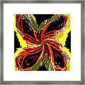 Pizzazz 48 Framed Print