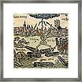Plague Of London, 1665 Framed Print