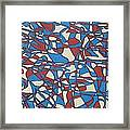 Planet Abstract Framed Print