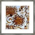 Play Brush And Ink Framed Print