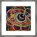 Playful Spirit Eye Framed Print