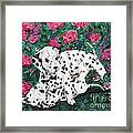 Play'n In The Posies Framed Print