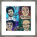 Poetry In Motion Framed Print by Tony B Conscious