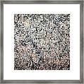 Pollock's Number 1 -- 1950 -- Lavender Mist Framed Print